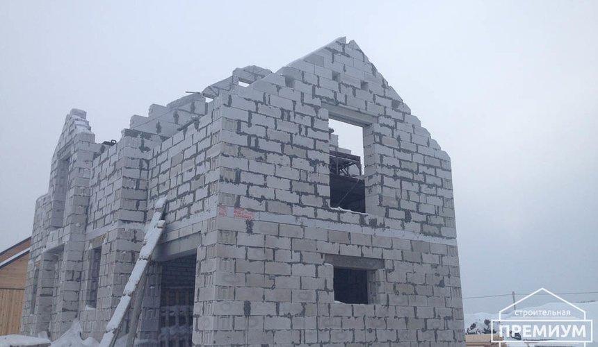 Строительство дома из блоков в с.Курганово 65
