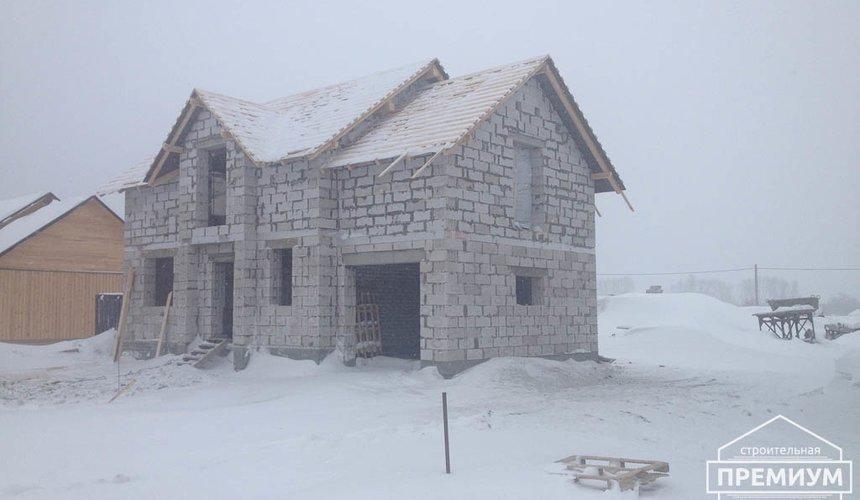 Строительство дома из блоков в с.Курганово 67