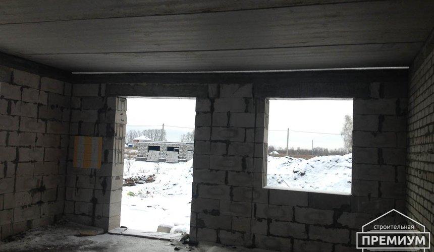 Строительство дома из блоков в с.Курганово 59