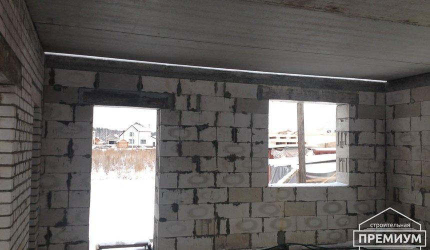 Строительство дома из блоков в с.Курганово 60