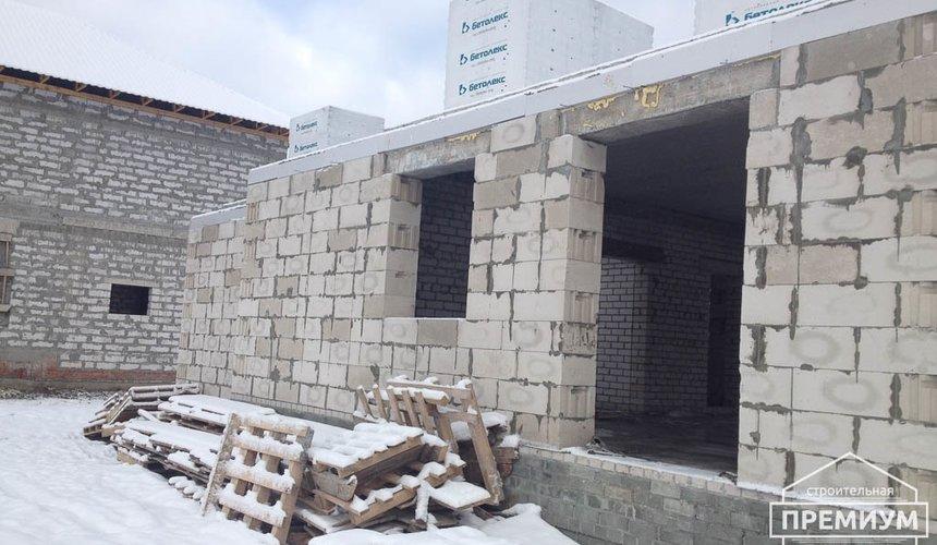 Строительство дома из блоков в с.Курганово 61