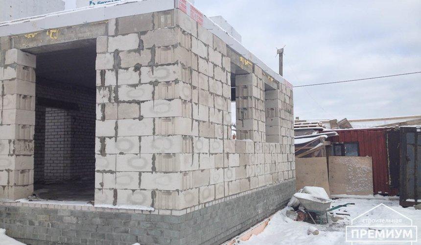 Строительство дома из блоков в с.Курганово 62
