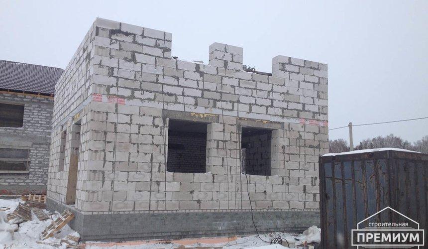 Строительство дома из блоков в с.Курганово 63