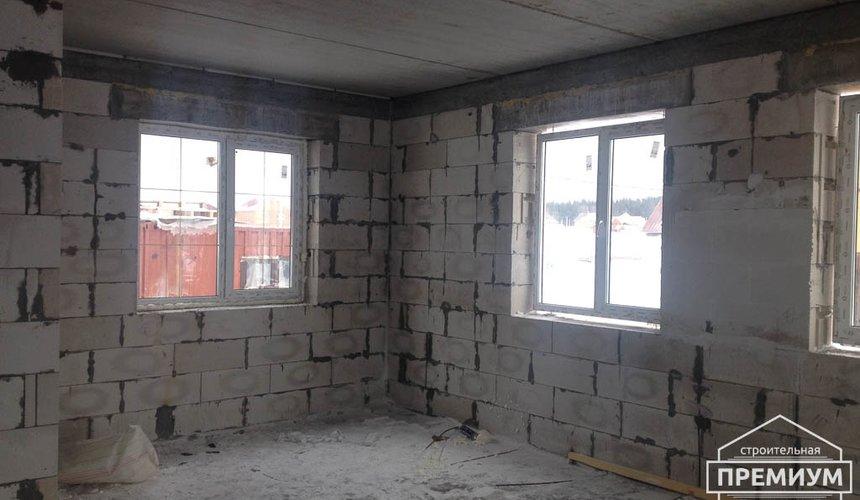 Строительство дома из блоков в с.Курганово 75