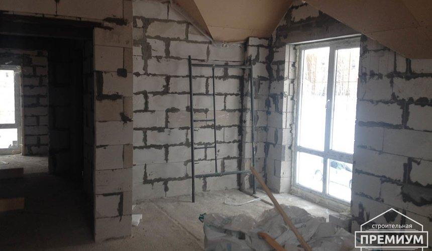 Строительство дома из блоков в с.Курганово 78