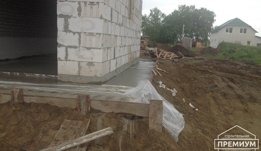 Строительство дома из блоков в с.Курганово 84