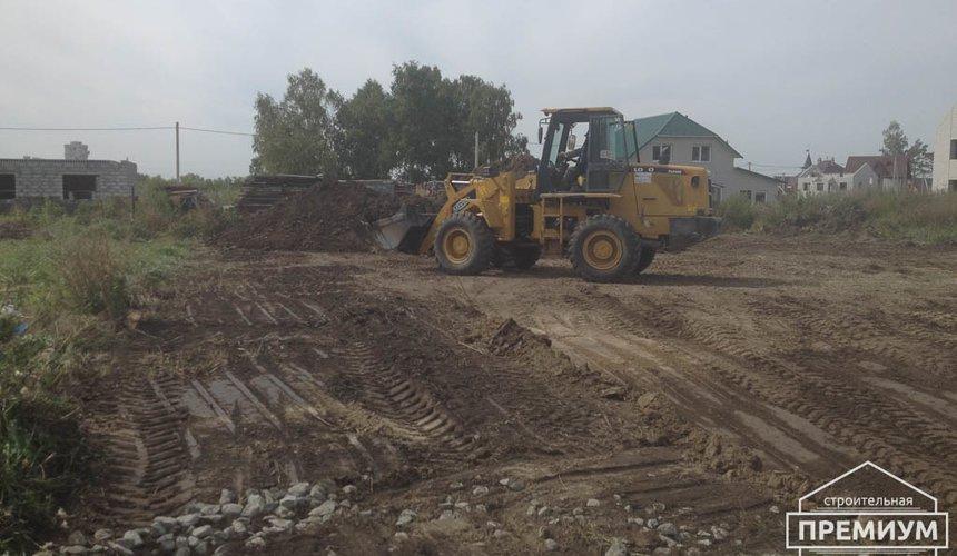 Строительство дома из блоков в с.Курганово 10