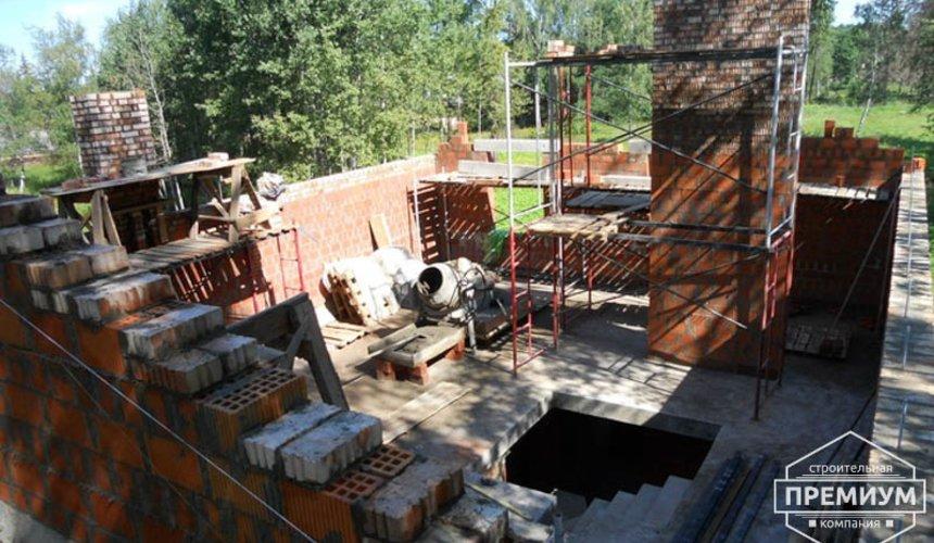 Строительство дома из кирпича в п.Сысерть 63