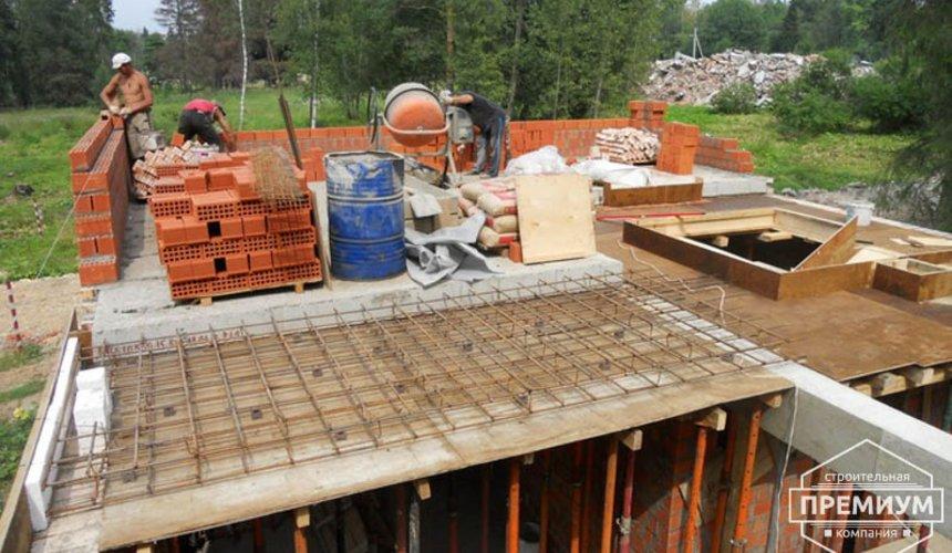 Строительство дома из кирпича в п.Сысерть 68