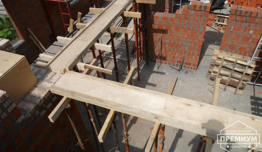 Строительство дома из кирпича в п.Сысерть 70