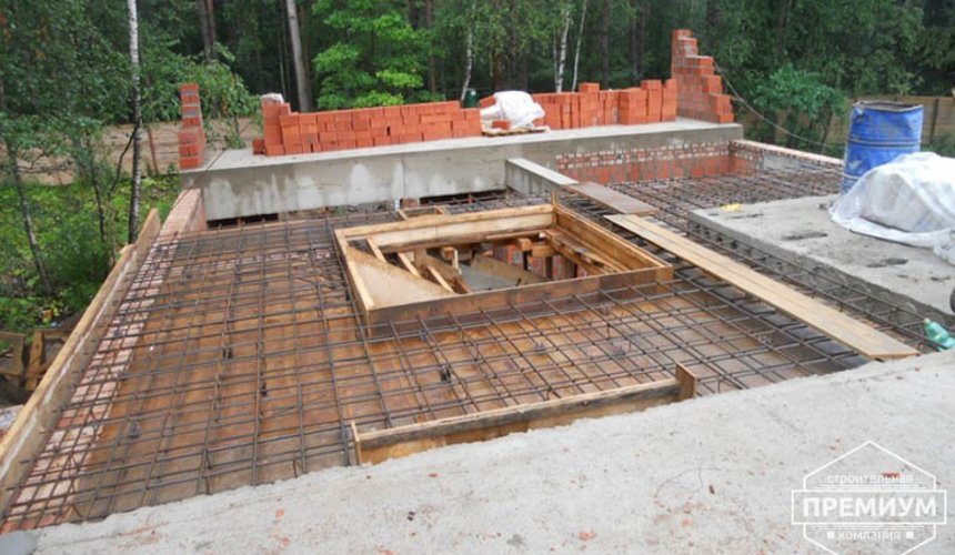 Строительство дома из кирпича в п.Сысерть 72