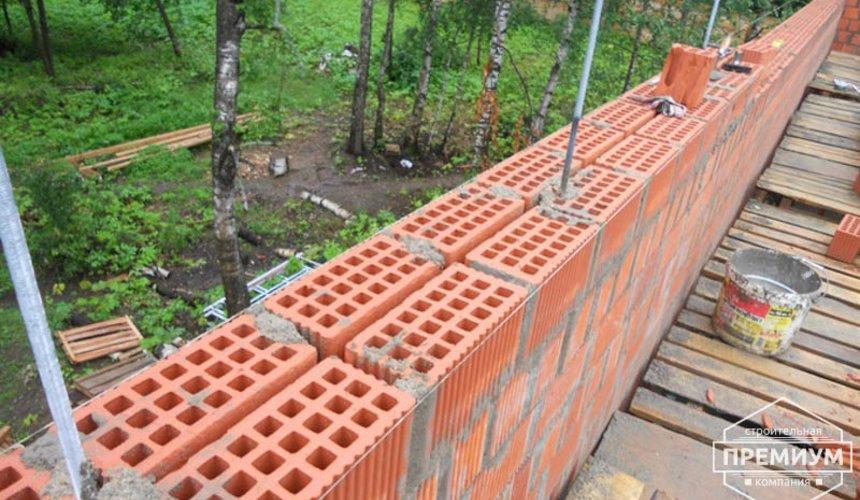 Строительство дома из кирпича в п.Сысерть 76