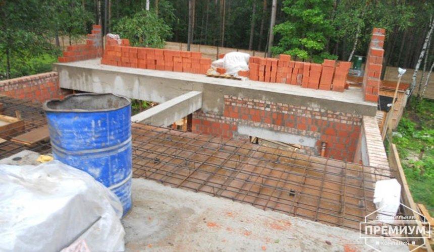 Строительство дома из кирпича в п.Сысерть 77
