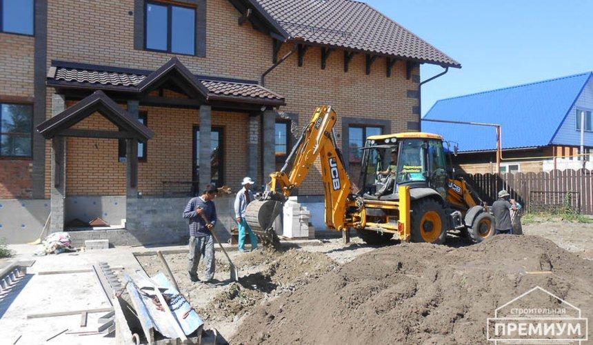 Строительство дома из блоков в коттеджном посёлке Александрия 70