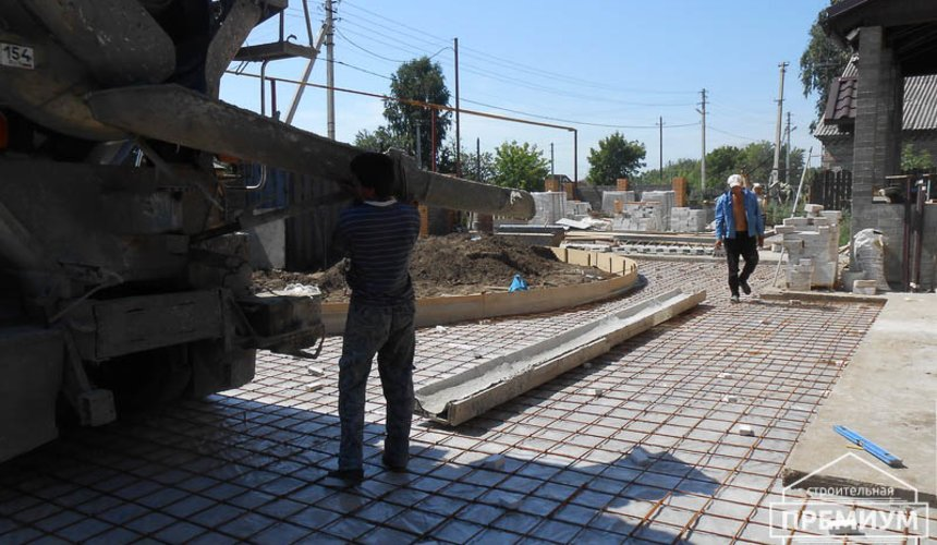 Строительство дома из блоков в коттеджном посёлке Александрия 72