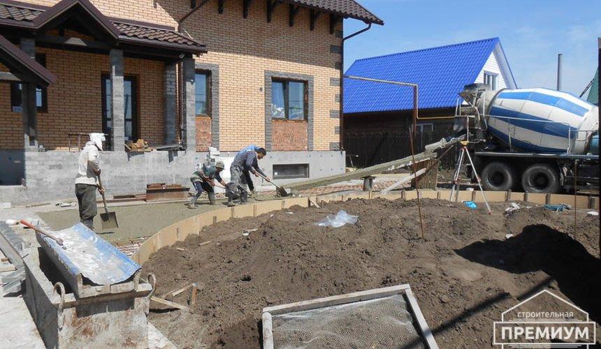 Строительство дома из блоков в коттеджном посёлке Александрия 75