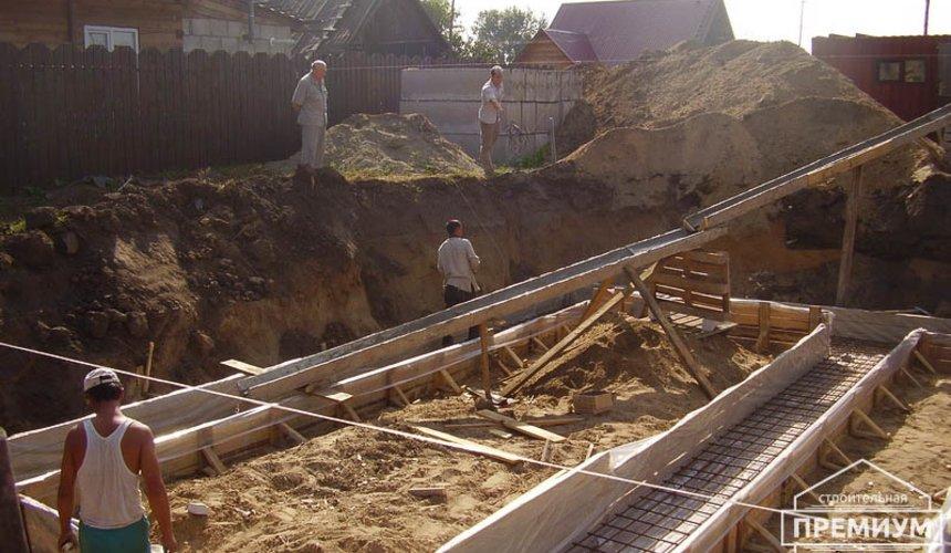 Строительство дома из блоков в коттеджном посёлке Александрия 13
