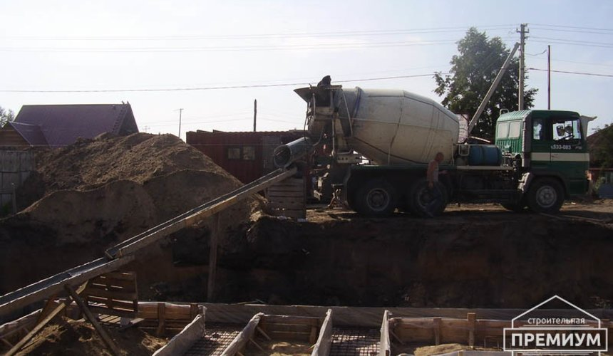 Строительство дома из блоков в коттеджном посёлке Александрия 14
