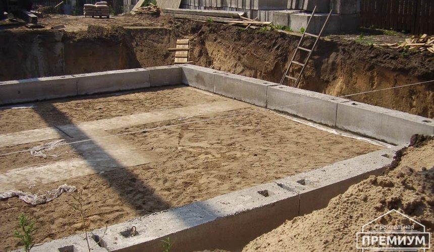 Строительство дома из блоков в коттеджном посёлке Александрия 19