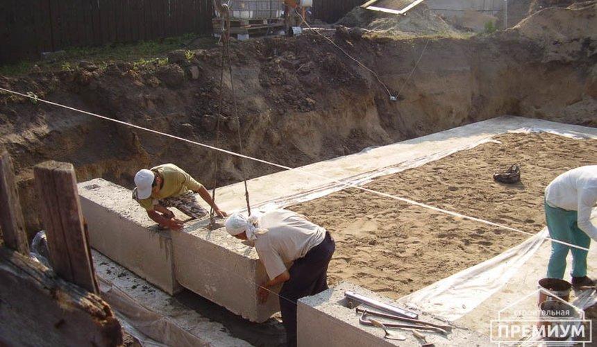 Строительство дома из блоков в коттеджном посёлке Александрия 20