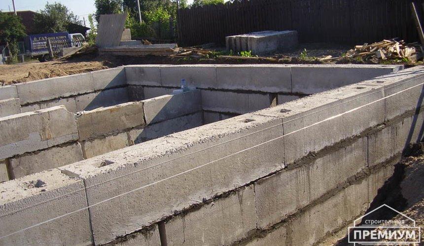 Строительство дома из блоков в коттеджном посёлке Александрия 21