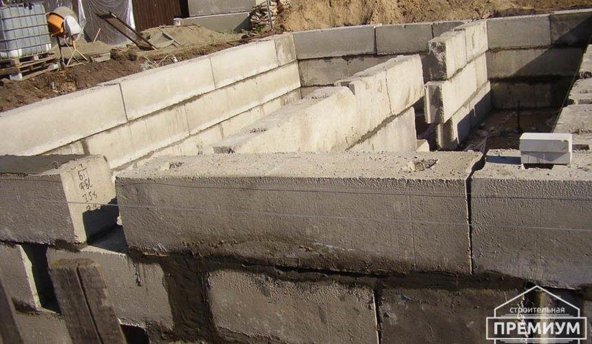 Строительство дома из блоков в коттеджном посёлке Александрия 23