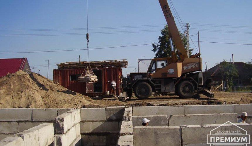 Строительство дома из блоков в коттеджном посёлке Александрия 26