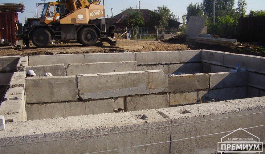 Строительство дома из блоков в коттеджном посёлке Александрия 27