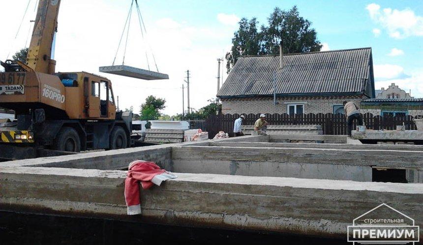 Строительство дома из блоков в коттеджном посёлке Александрия 29