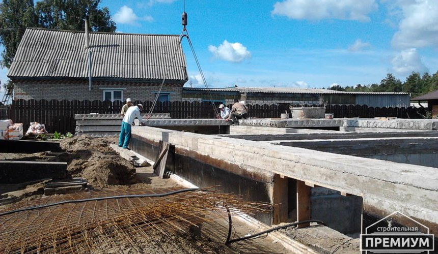 Строительство дома из блоков в коттеджном посёлке Александрия 30