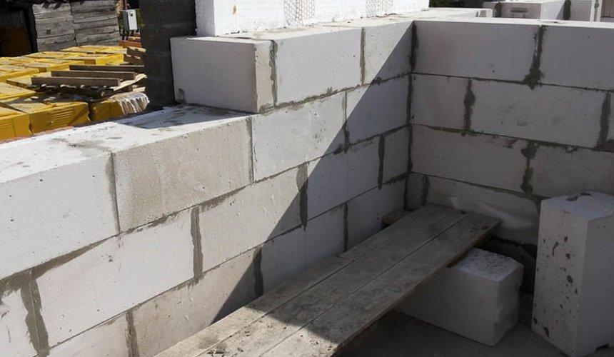 Строительство дома из блоков в коттеджном посёлке Александрия 37