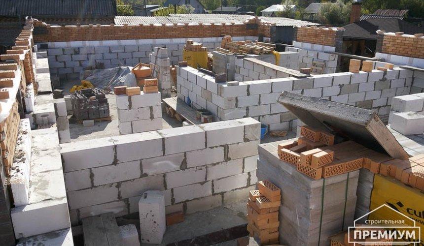 Строительство дома из блоков в коттеджном посёлке Александрия 38