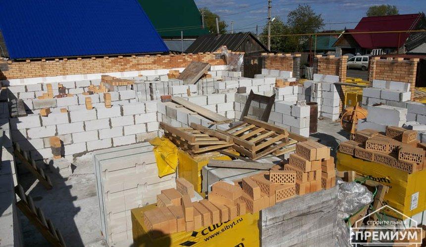 Строительство дома из блоков в коттеджном посёлке Александрия 39