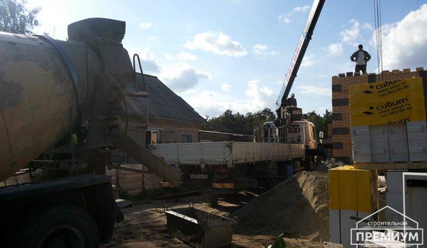 Строительство дома из блоков в коттеджном посёлке Александрия 44