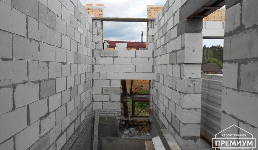 Строительство дома из блоков в коттеджном посёлке Александрия 45