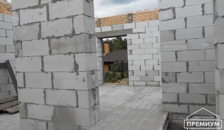 Строительство дома из блоков в коттеджном посёлке Александрия 46