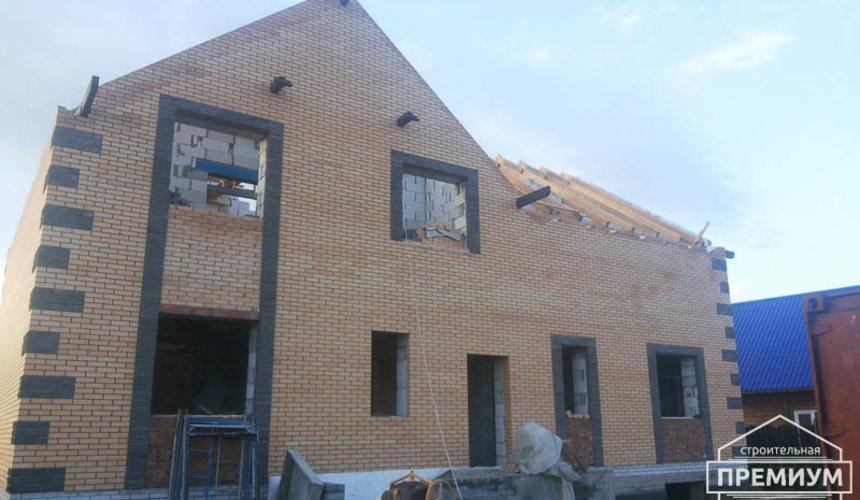 Строительство дома из блоков в коттеджном посёлке Александрия 50