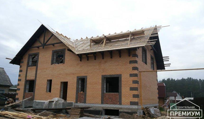 Строительство дома из блоков в коттеджном посёлке Александрия 1