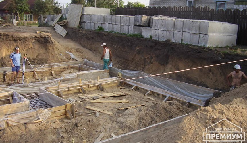 Строительство дома из блоков в коттеджном посёлке Александрия 8