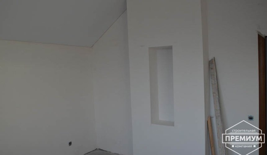 Строительство дома из блоков в коттеджном посёлке Александрия 58