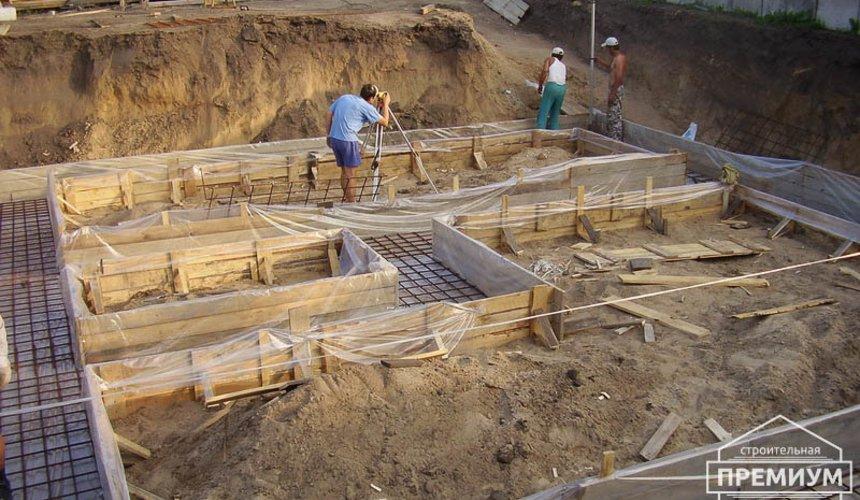 Строительство дома из блоков в коттеджном посёлке Александрия 9