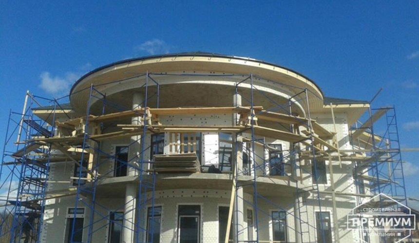 Проектирование и строительство дома из блоков в коттеджном посёлке Новая Россоха 1
