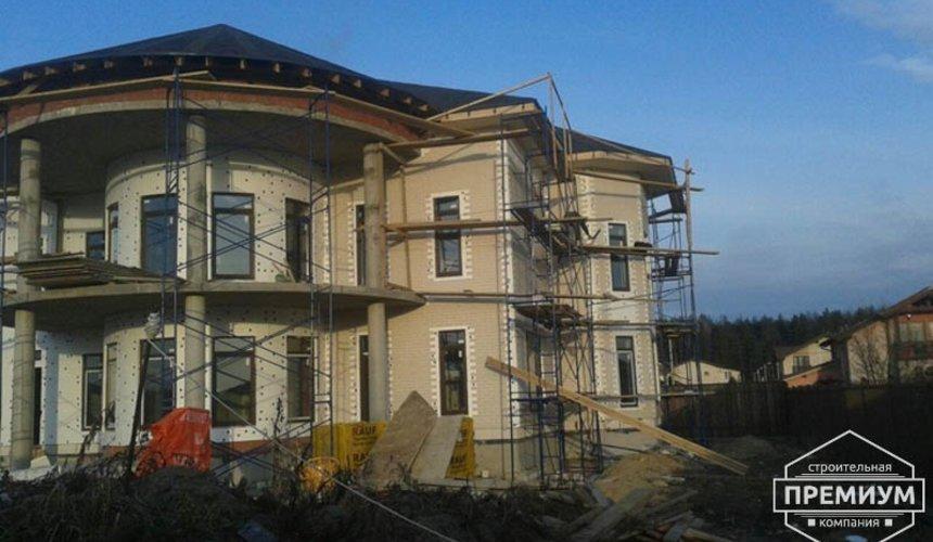 Проектирование и строительство дома из блоков в коттеджном посёлке Новая Россоха 2