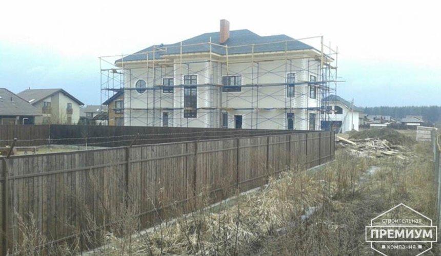 Проектирование и строительство дома из блоков в коттеджном посёлке Новая Россоха 3