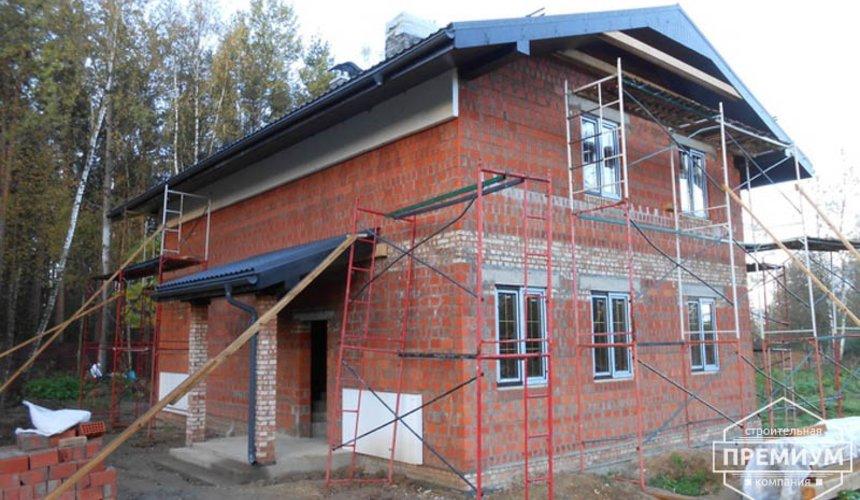 Строительство дома из кирпича в п.Сысерть 162