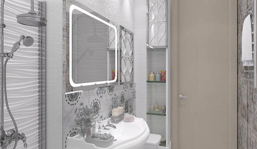 Ремонт и дизайн интерьера трехкомнатной квартиры по ул. Татищева 49 106