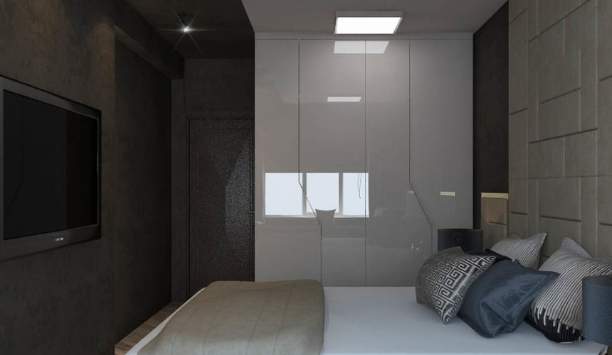 Ремонт и дизайн интерьера трехкомнатной квартиры по ул. Кузнечная 81 62