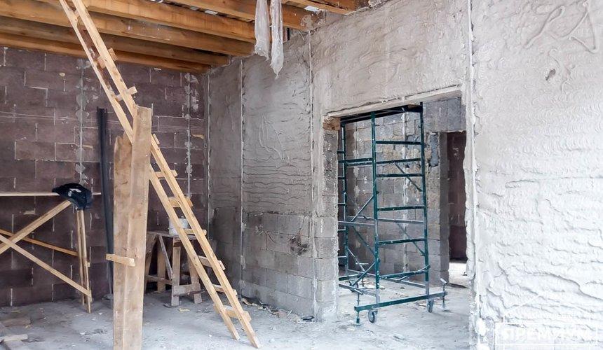 Механизированная штукатурка стен в коттедже 250 кв.м., п. Кашино 30