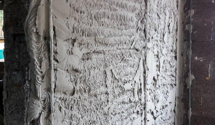 Механизированная штукатурка стен в коттедже 250 кв.м., п. Кашино 32