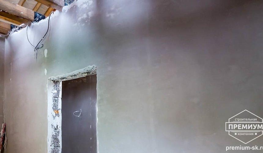 Механизированная штукатурка стен в коттедже 250 кв.м., п. Кашино 6